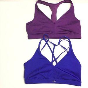 2 Victoria's Secret VSX sports bras